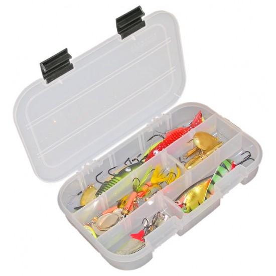 Коробка Aquatech 7002 Коробка 13ячеек с 2-мя застежками