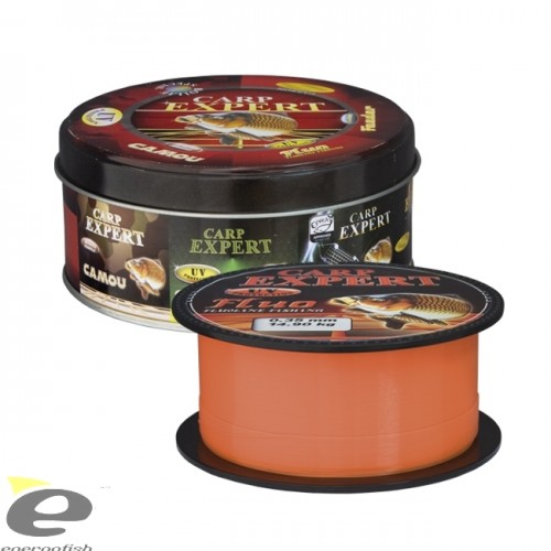 Леска CARP EXPERT UV FLUO ORANGE 0.35мм 300м