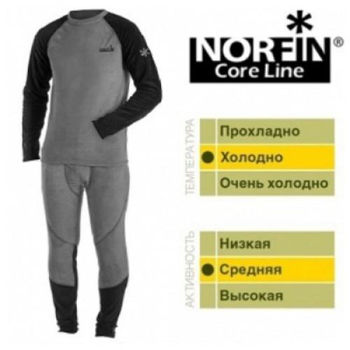 Термо белье Norfin Core Line флис-стрейч (1-ый слой) L