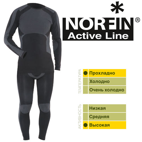 Термо белье Norfin Active Line XL