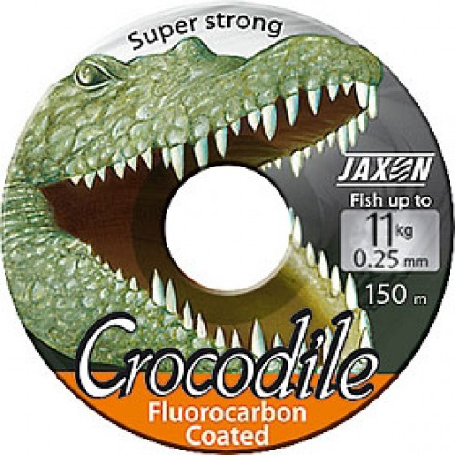 Леска JAXON CROCODILE FLUOROCARBON COATED 0,18mm 25m