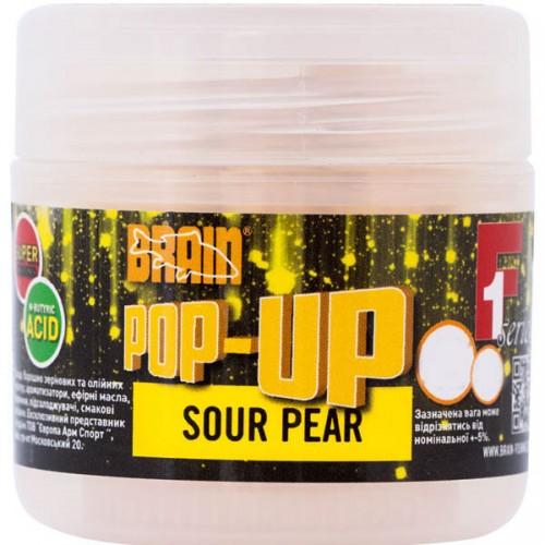Бойлы Brain Pop-Up F1 Sour Pear (груша) 12mm 15gr