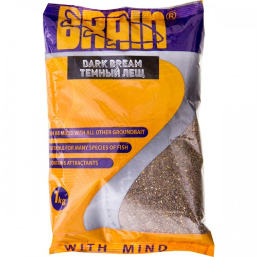 Прикормка Brain Dark Bream 1kg