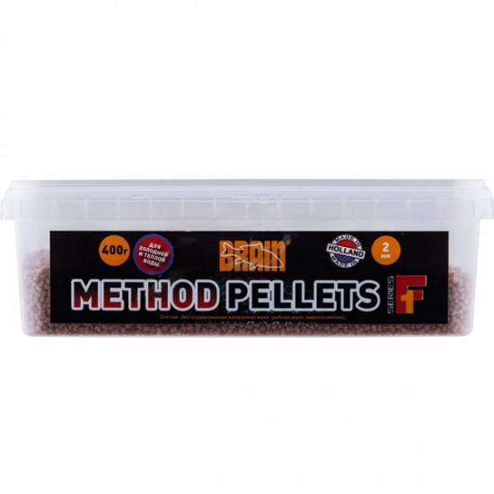 Пеллетс Brain Method Pellets F1 400g 2mm