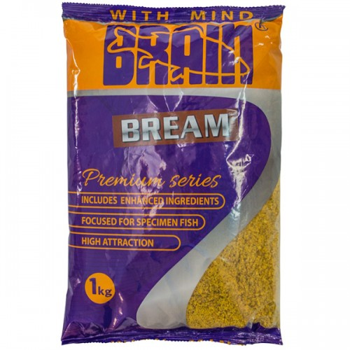 Прикормка Brain Premium Bream 1kg