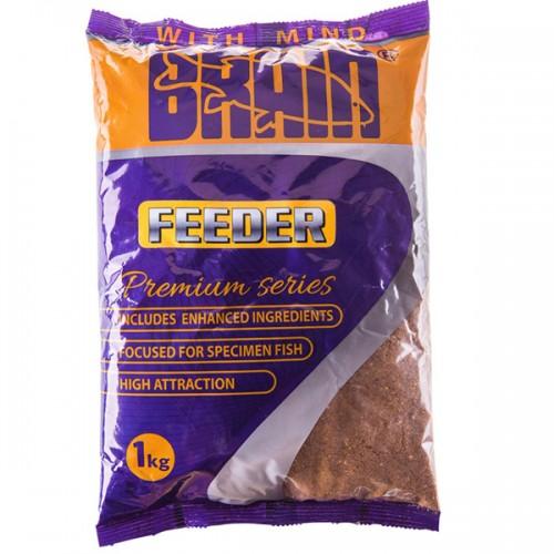 Прикормка Brain Premium Feeder 1kg