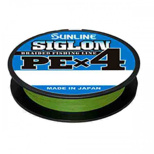 Шнур Sunline Siglon PE x4 150м (салат.) #0.2/0.076 3LB/