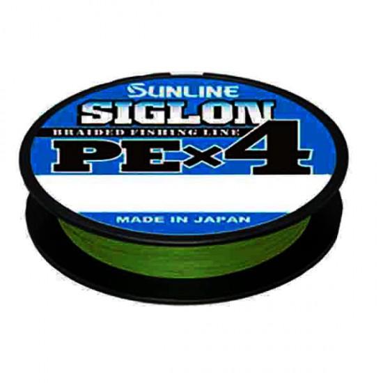 Шнур Sunline Siglon PE x4 300м (темн-зел.) #2.0/0.242 35LB/15,5кг