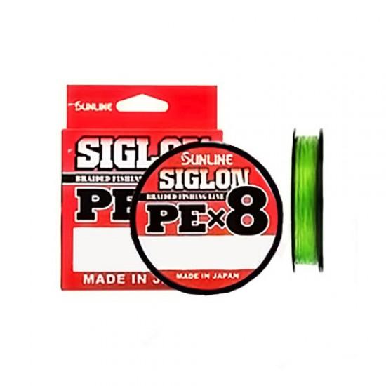 Шнур Sunline Siglon PE x8 150м (салат.) #1.7/0.223 30LB/13,0кг