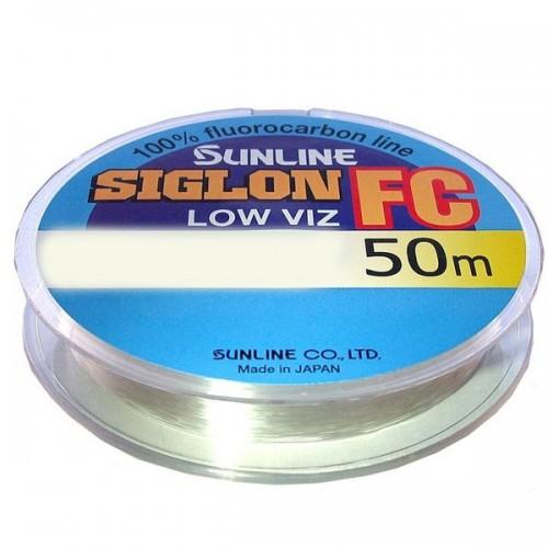 Леска Sunline SIG-FC флюорокарбон 50м 0,38мм 9,1кг